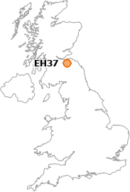 map showing location of EH37