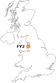 map showing location of FY2