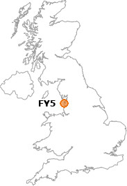 map showing location of FY5