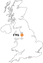 map showing location of FY6