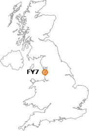map showing location of FY7