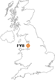 map showing location of FY8