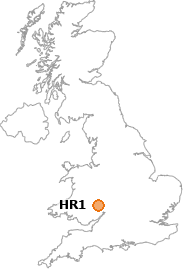 map showing location of HR1