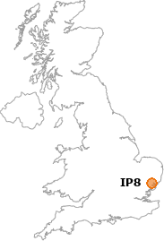 map showing location of IP8