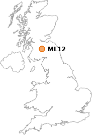 map showing location of ML12