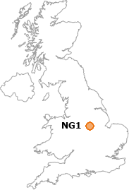 map showing location of NG1