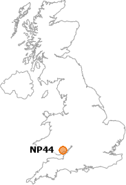 map showing location of NP44