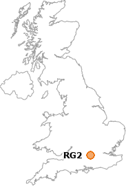 map showing location of RG2