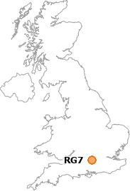 map showing location of RG7