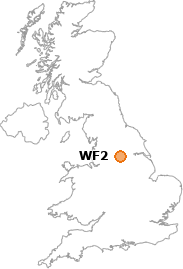 map showing location of WF2