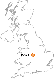 map showing location of WS3