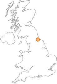 map showing location of Elton, Stockton-on-Tees