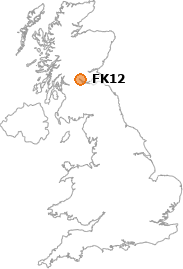 map showing location of FK12