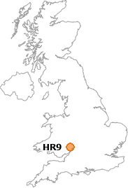 map showing location of HR9