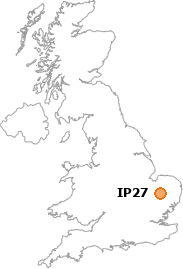 map showing location of IP27