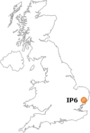map showing location of IP6