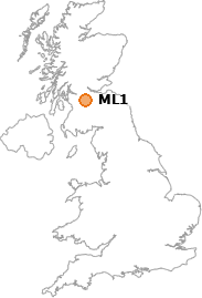 map showing location of ML1