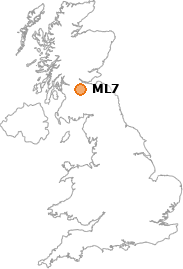 map showing location of ML7