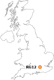 map showing location of RG12