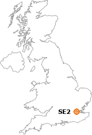 map showing location of SE2