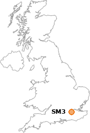 map showing location of SM3