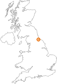map showing location of Wynyard, Stockton-on-Tees